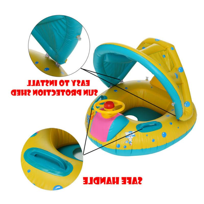 Swimming Pool Inflatable Float Toy Sunshade