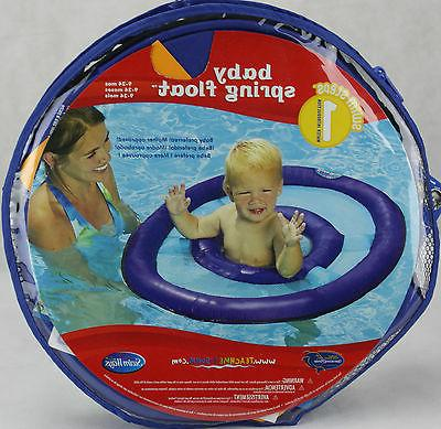 swimways step 1 baby blue spring float