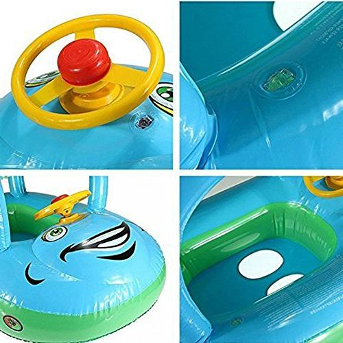 TINTON LIFE Toddler Infant Cartoon Boat Canopy for Months 1
