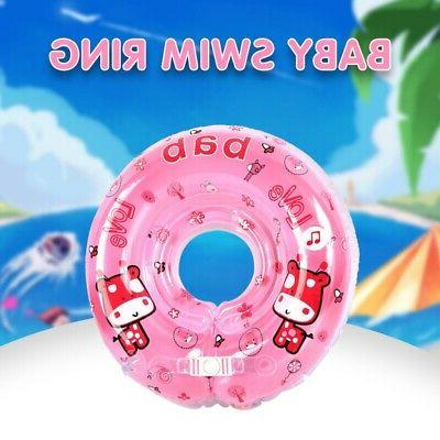 Swimming Tube Ring PVC Baby Bath Ring Float