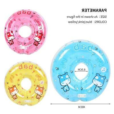 US Baby Swimming Ring Head Support Inflating Ring Safety Circle