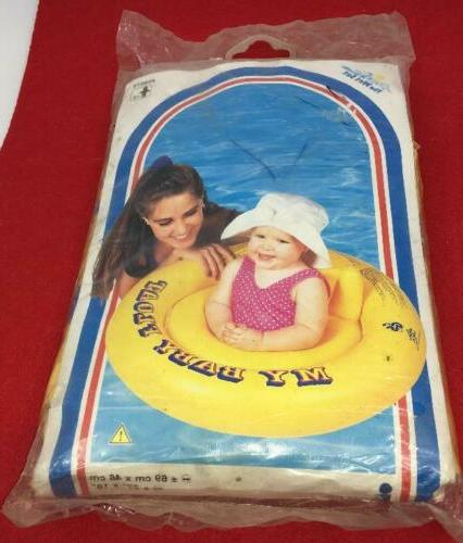 vintage pool float wet set my baby