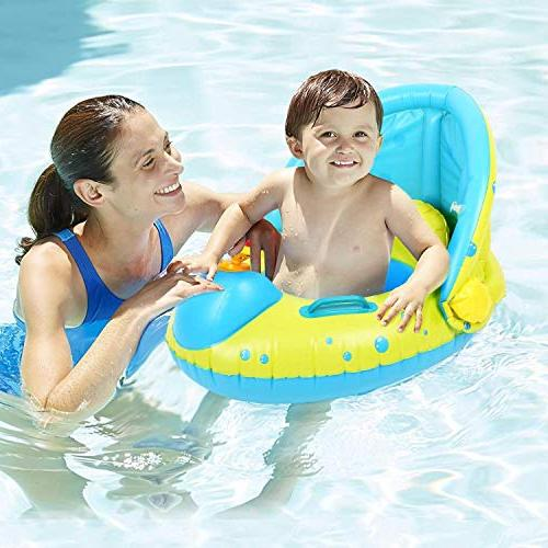 Peradix Baby Water Toys Sunshade Floating Ring