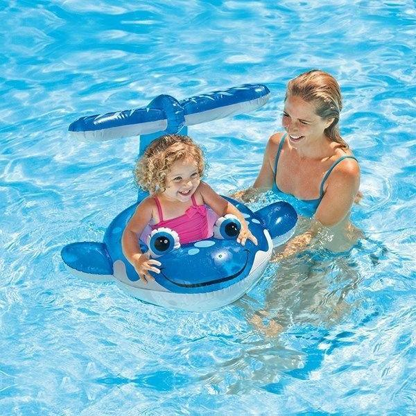 Intex Whale baby float Inflatable Sit Pool Party Whale
