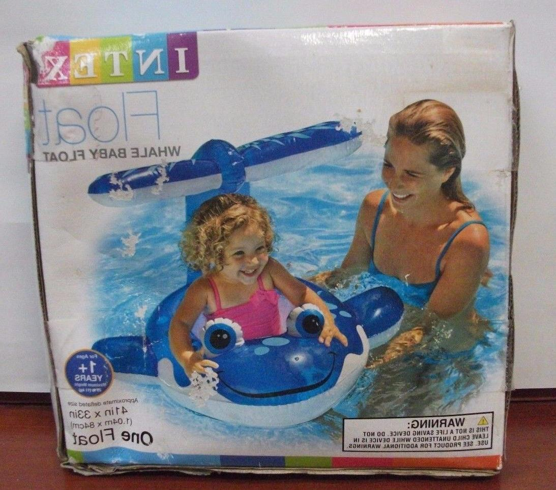 whale baby float inflatable baby sit on