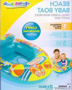 Aqua Leisure Beach Baby Boat Baby Float Inflatable Baby Floa