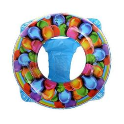 Lovely Baby Swim Sit Ring Baby Inflatable Seat Swim Ring Rem