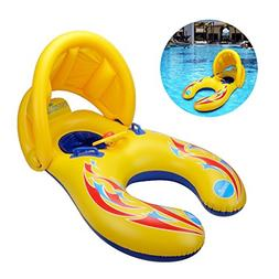 Jarvan Mother and Baby Inflatable Swimming Float with Remova