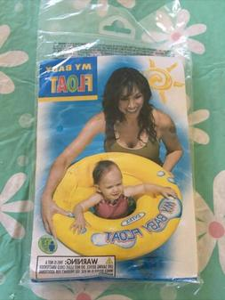 INTEX My Baby Float - Age 1-2 Swimming Safety Ring 33 lbs Ne