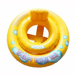 My Baby Float Raft Intex Yellow Learn Swim Safety Pool Party