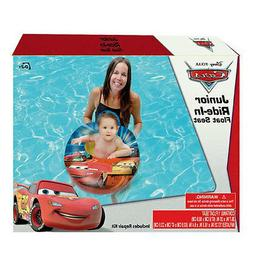 MY FIRST RIDE IN BABY BOY SWIM FLOAT SEAT DISNEY CARS MCQUEE