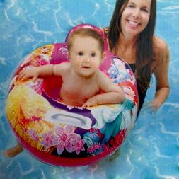 MY FIRST RIDE IN BABY SWIM FLOAT SEAT DISNEY PRINCESS POOL B