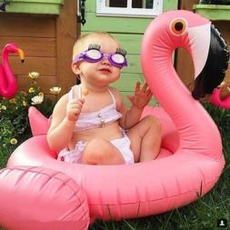 New Baby Kids Infant Flamingo Inflatable Float Seat Water To