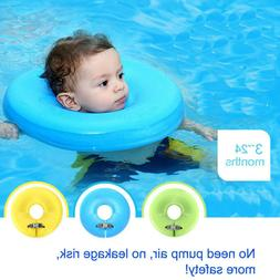 New Baby Neck Safety Swimming Ring Float Pool Spa Swimtraine