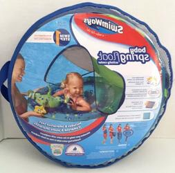 NEW SwimWays Baby Spring Float Activity Center With Sun Cano