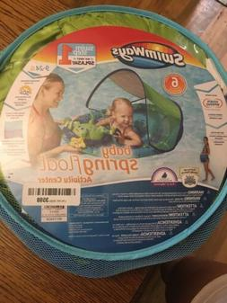 New SwimWays Baby Spring Float Activity Center with Canopy B