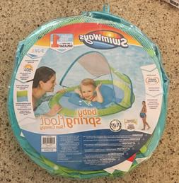 New!  Swimways- Baby Spring Float & Sun Canopy,Swim Step 1,