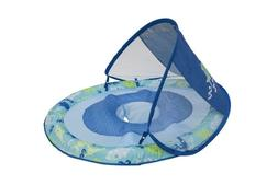 NEW SwimWays Baby Spring Float Sun Canopy, Blue Shark, 9-24M