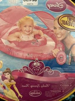 New Swimways Disney Princess Baby Spring Float Canopy 9-24 M
