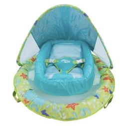NEW Infant Baby Spring Float with Adjustable Sun Canopy Pool