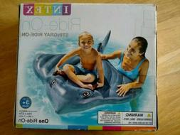 New! INTEX STINGRAY inflatable RIDE ON Swimming Pool Float T