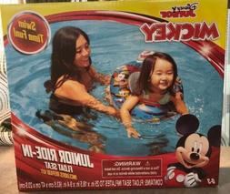 NWT DISNEY MICKEY MOUSE JUNIOR RIDE IN POOL BEACH FLOAT SEAT