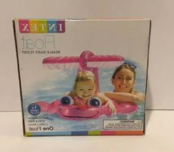 INTEX PINK WHALE BABY FLOAT 1+ yrs-NEW IN BOX