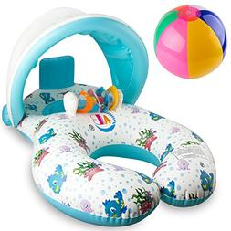 R • HORSE Baby Pool Float - Baby Swim Float Pool Toy with