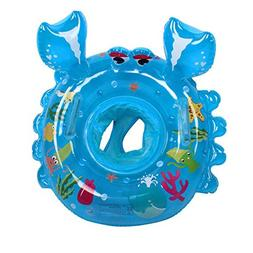 Baby Pool Float, Crabs Topist Baby Float Toddler Pool Float,