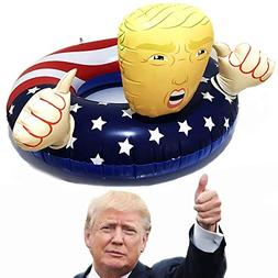 pool float donald trump american