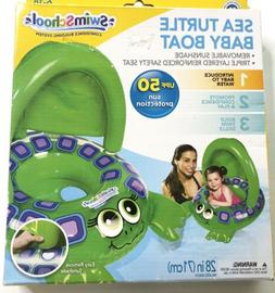 New Baby Pool Float Lobster With Canopy  Sunshade 6-18 Month