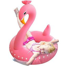 Pool Floats,Flamingo Pool Float, Pool Floats for Kids Ride o