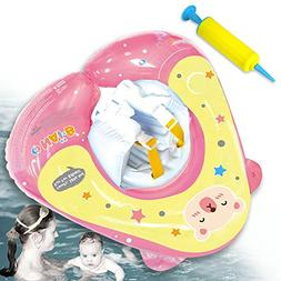Nai-B Pool Floats for Kids and Toddler, Inflatable Baby Swim