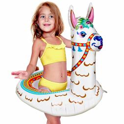 Pool Floats For Kids - Llama Pool Float, Baby Floaties For T