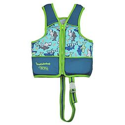 SwimSchool Swim Trainer Vest, Adjustable Safety Strap, Easy