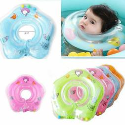 Safety Newborn Infant Baby Swimming Neck Float Ring Bath Inf