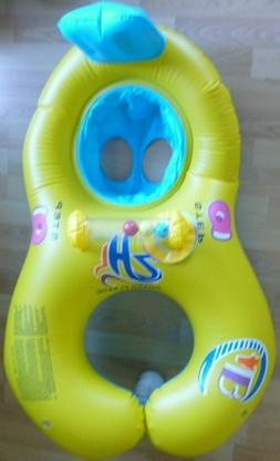 Seat Circle Baby & Parent Swimming Ring Inflatable Float - P