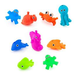 Sassy Baby Snap and Squirt Sea Creature Set
