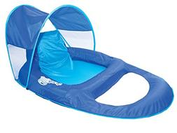 Swimways Spring Float Recliner Pool Lounger with Canopy
