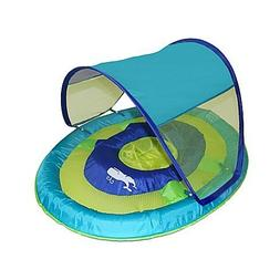 SwimWays Sun Shade Spring Float with removable UV sun shade