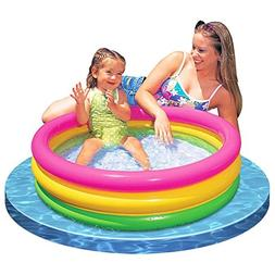 Intex Baby Sunset Glow Pool Game Slide Inflatable Kids Backy