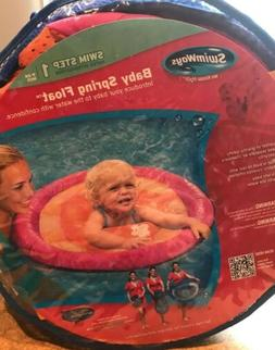 Swim Step 1 - Girls Pink & Orange Baby Spring Float 9-24 Mon