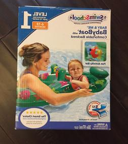 Swim School Baby and Me Baby Boat/Baby Float New in Box!