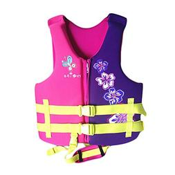 Swim Vest Learn-to-Swim Floatation Jackets for Kids