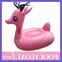 Swimline Inflatable Unicorn Baby Floating Lounger Raft Float