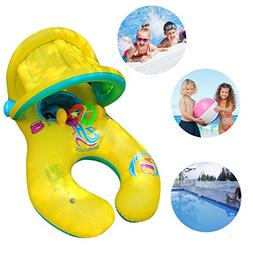 OKPOW Baby Swimming Pool Floats Swim Ring Inflatable Floats