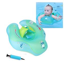 FOONEE Baby Swimming Ring, Adjustable Baby Pool Floatt,Baby