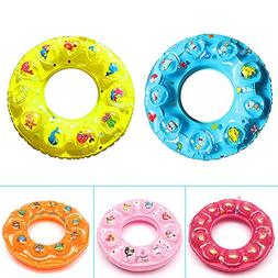 Swimming Ring, Kids Float Inflatable Pool Protection with Cu