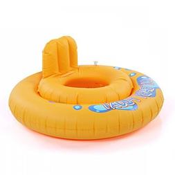 Baby Kids Swimming Seat Ring Water Inflatable Aid Trainer To
