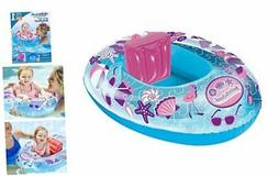 Swimschool Beach Days Baby Pool Float, Baby Boat with Adjust